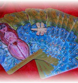 Aphrodite Dragonfly Oracle Cards